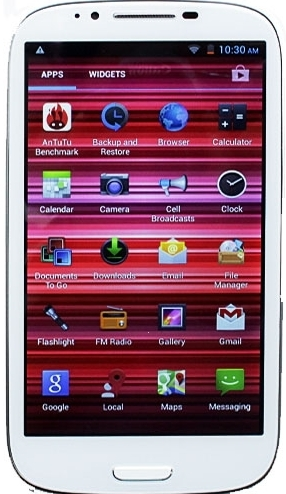 Star N9389 MTK6589 Quad Core (Белый)