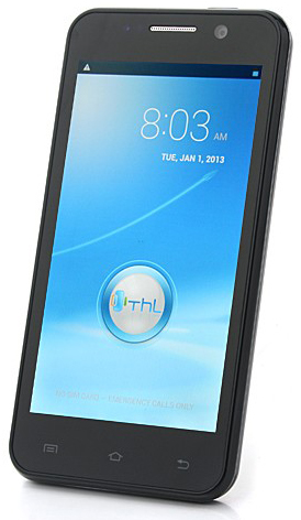 THL W100 Android 4.2 MTK6589 Quad-Core (Черный)