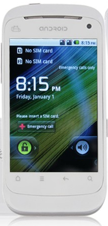 B1000 Android White - китайский HTC Sensation