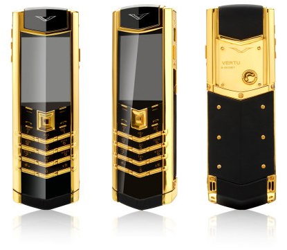 Vertu Signature S Design Gold