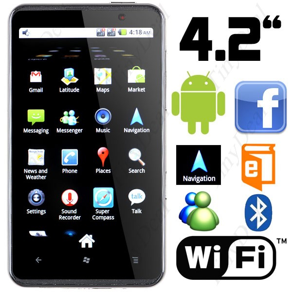 Htc a2000 star android 2 2 a-gps