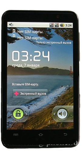 HD9 Android 2.1 - китайский HTC Hero