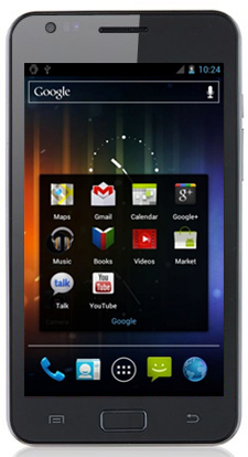 i9220 - китайский Samsung Galaxy Note MTK 6575 Android 4.0 чёрный